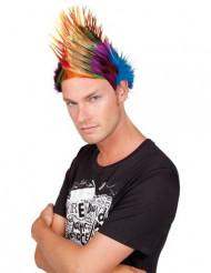 Spiky Mike peruk vuxen
