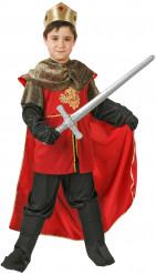 Medeltida kung - Maskeraddräkt för barn