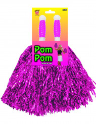 Lilaskimrig pompom