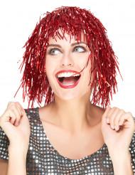Rödskimrig peruk vuxen