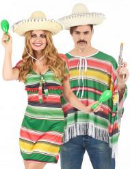 Pardräkt för Vuxna Inspirerad av Mexico