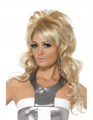 Glamorös böna - Blond peruk för vuxna till maskeraden