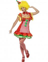 Clownen Kruktumla damdräkt