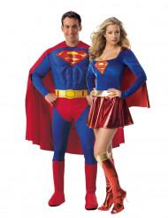 Superman™ & Supergirl™ Pardräkt Vuxna
