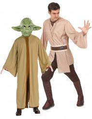 Jedi & Yoda - Star Wars™ pardräkt för vuxna