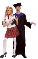 Ett par goda studenter - Pardräkt i vuxenstorlek