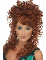Rödlockig peruk vuxen