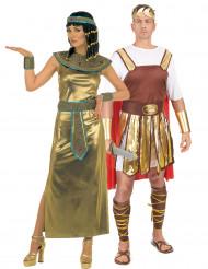 Kleopatra och Cesar - Pardräkt för vuxna
