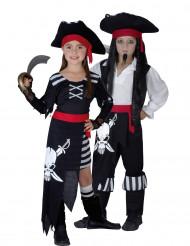 Dräkt för piratpar barn
