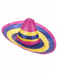 Flerfärgad sombrero vuxen
