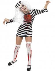 Zombiefånge - utklädnad för vuxna till Halloween