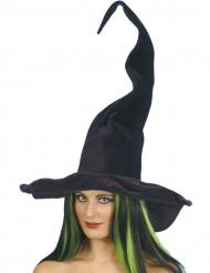 Svart häxhatt vuxen Halloween