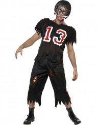 Amerikansk fotbollsspelardräkt vuxen Halloween