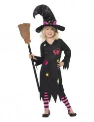 Katthäxedräkt till Halloween för barn