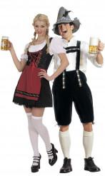 Oktoberfest - Pardräkt för vuxna