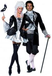 Barockt vampyrpar för Halloween - Pardräkt i vuxenstorlek