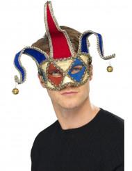 Venetiansk jokermask för vuxna
