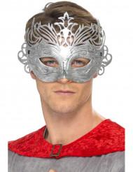 Venetiansk mask i metallisk färg för vuxna