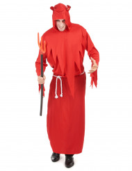 Onda röda - Djävulsdräkt för vuxna till Halloween