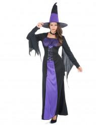 Lila magi - Häxdräkt till Halloween