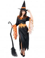 Krälande Krista - Häxkläder för vuxna till Halloween
