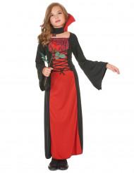 Blodröda vampyren - Halloweendräkt för barn