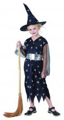 Häxdräkt till Halloween för barn