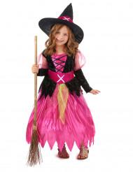 Häxdräkt för barn till Halloween