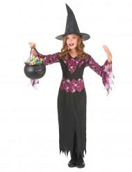 Häxa - utklädnad barn till Halloween