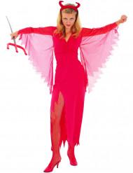 Feminin djävulsdräkt Halloween