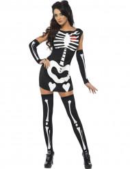 Snygg Skelett - Maskeraddräkt för vuxna till Halloween