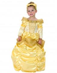 Guld prinsessa - utklädnad barn