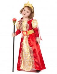 Drottning - utklädnad barn