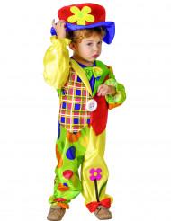 Söt clown - utklädnad barn
