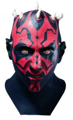 Heltäckande mask som Darth Maul™ vuxen Darth Maul™