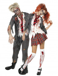 Zombietjej och Zombiekille - Pardräkt Vuxna