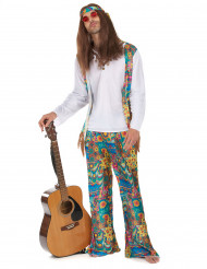 Hippie-utklädnad för vuxen