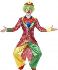 Clown Maskeraddräkt Man