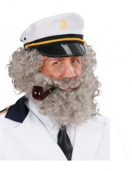 Skägg och mustasch för en sjöman