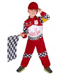 Racerförardräkt för barn till maskisen