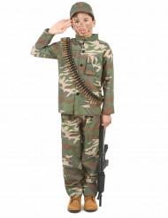 Soldatdräkt barn