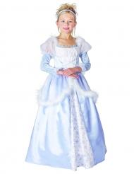 Blå prinsessa - utklädnad barn