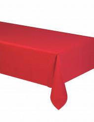 Röd pappersduk - Festdukning 140 x 280 cm