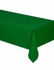 Grön duk i papper till festen 140 x 280 cm