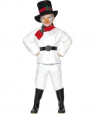 Snögubbedräkt för barn - juldräkt