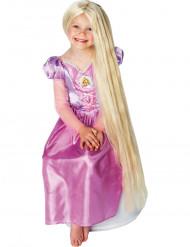 Peruk ljusskimrande prinsessa Rapunzel™ barn
