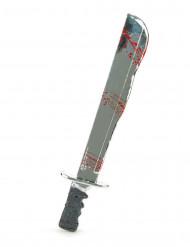 Jasons™ kniv med ljud - Halloweentillbehör