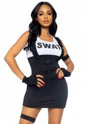 Sexy Swat - Maskeradkläder för vuxna till temafesten
