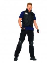 Maskeraddräkt polisman SWAT