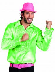 Grön discoskjorta för vuxna